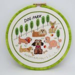 Dog Park Embroidery pattern by stitchdoodles