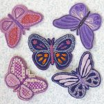 Butterflies hand embroidery pattern by stitchdoodles