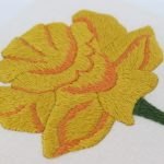 Daffodil Embroidery Pattern by Stitchdoodles