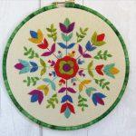 floribunda pattern by stitchdoodles