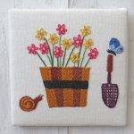 Daisy Pot Pattern by Stitchdoodles