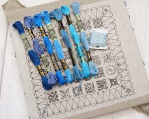 Dear Jane Embroidery Pattern
