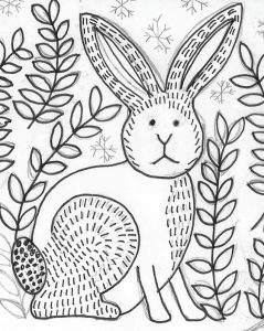 hare stitchdoodles