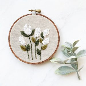 french knot embroidery