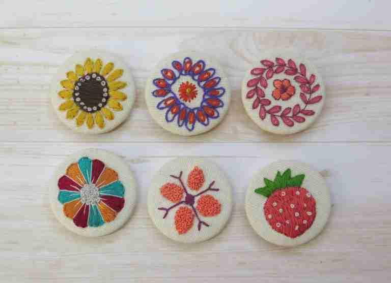 embroidery pendant designs