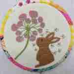 hand embroidery rabbit pattern