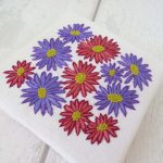 Aster Flowers Embrioidery Pattern