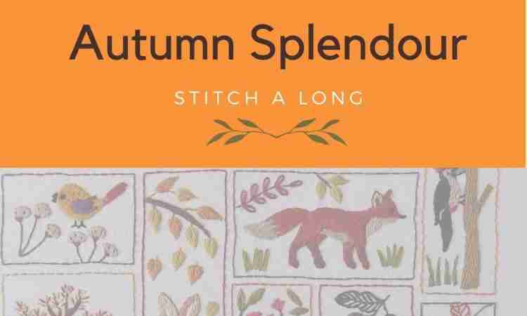Autumn splendour stitch a long