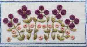 woven wheel flowers