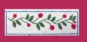berry vine banner