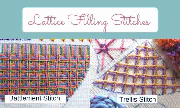 lattice stitches