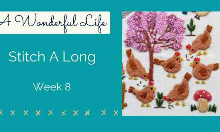 chickens week 8
