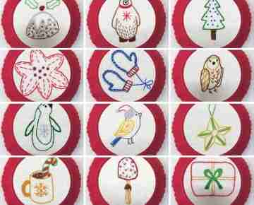 christmas embroidery designs by stitchdoodles