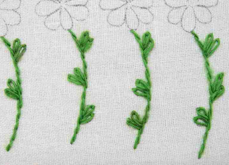 stem stitch stems