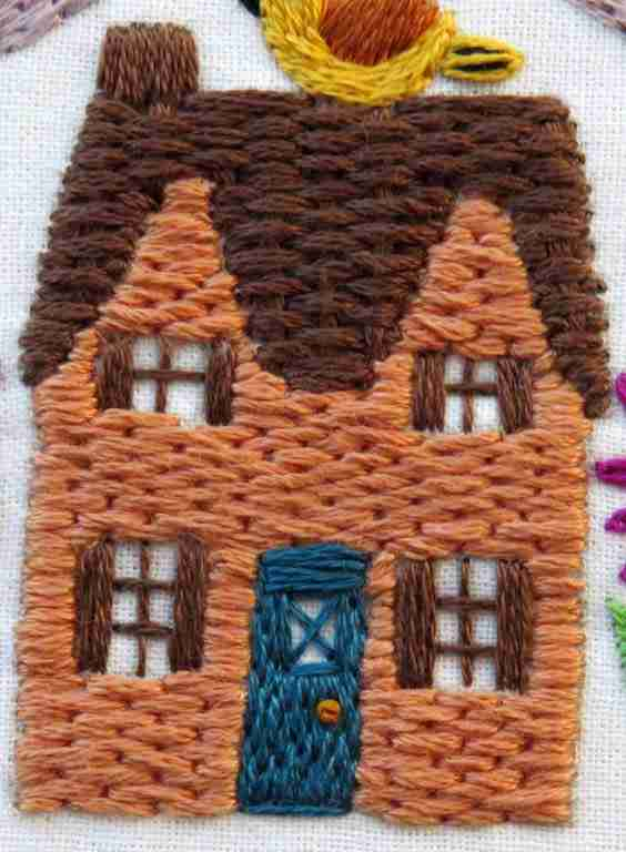 hand embroidery cottage