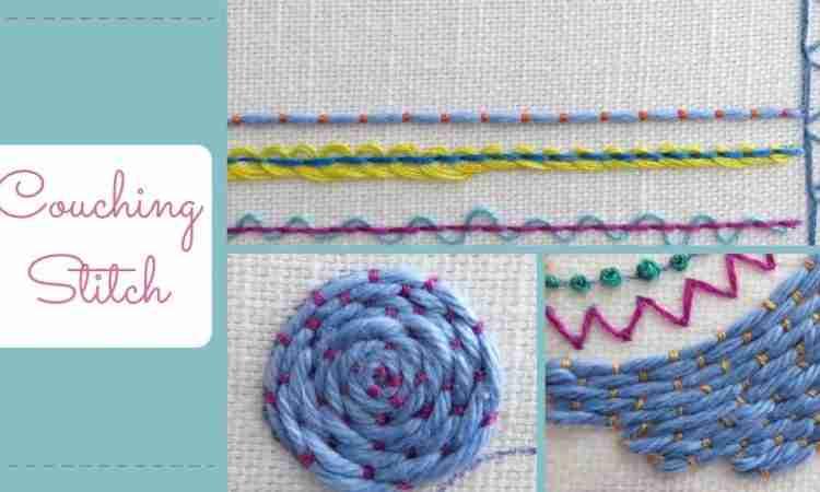 couching stitch