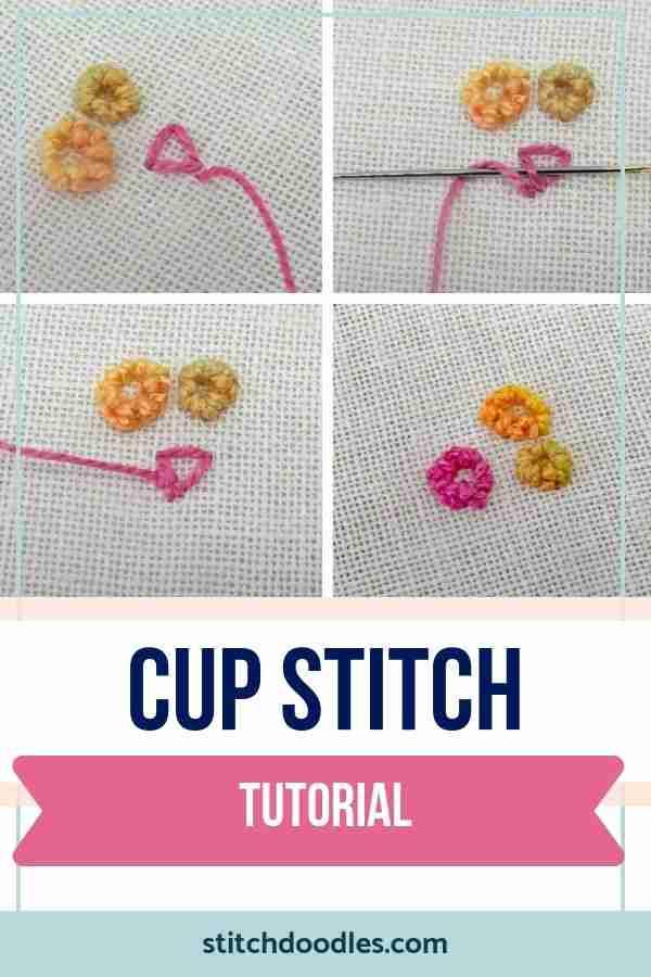 cup stitch tutorial