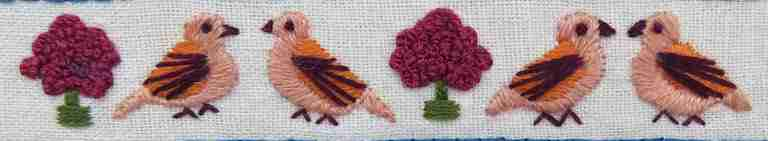 doves sampler pattern
