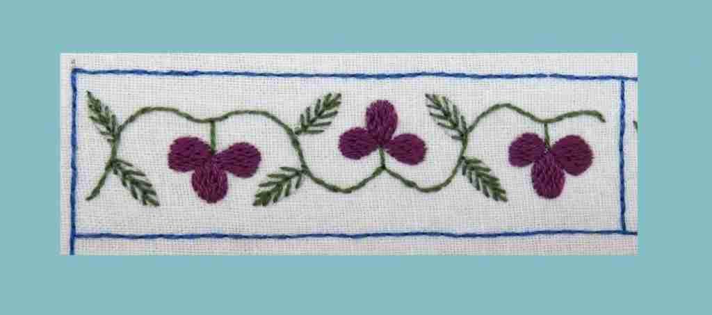 floral vine banner