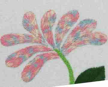 honeysuckle embroidery design