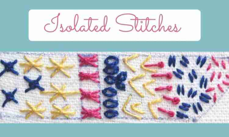 isolated stitches