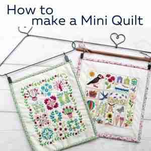 mini quilt tutorial