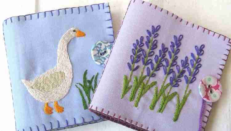 Hand Embroidery Needlebook