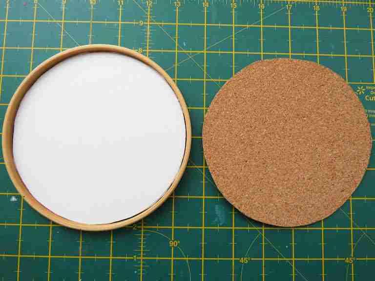 cork board circle