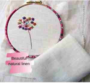 hand embroidery fabric