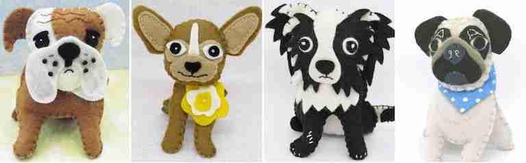 dog breeds sewing patterns