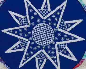 star embroidery pattern