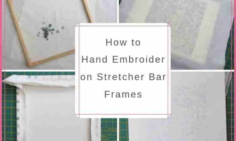 stretcher bar frames