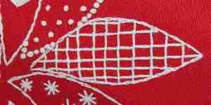 trellis stitch