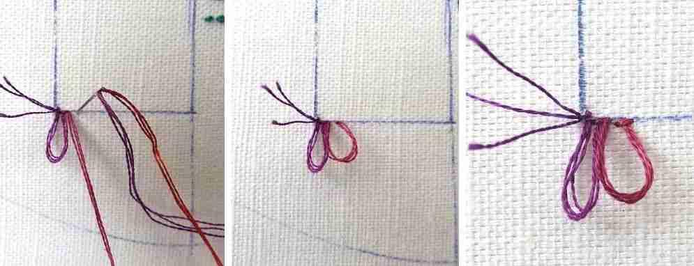 turkey rug stitch guide