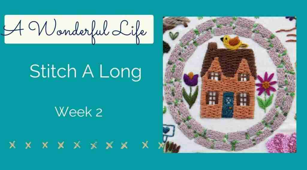 stitch a long week 2