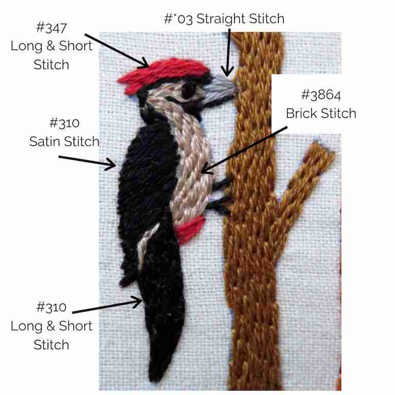 woodpecker stitch guide