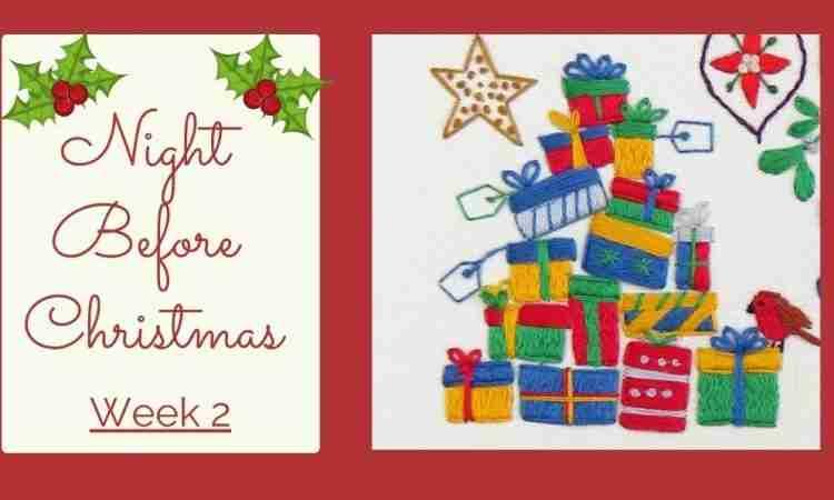 Christmas SAL week 2